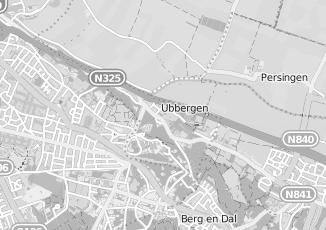 Kaartweergave van Pronto wonen in Ubbergen