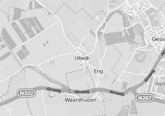 Kaartweergave van Autoverhuur in Uitwijk
