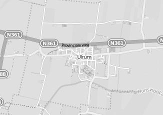 Kaartweergave van Bulthuis in Ulrum