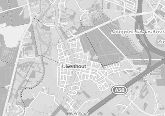 Kaartweergave van Rdw in Ulvenhout Ac