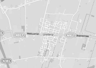 Kaartweergave van Jonkman in Ureterp