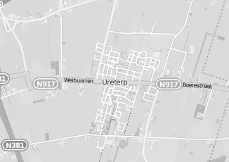 Kaartweergave van Posthumus in Ureterp