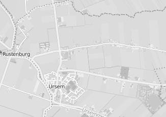 Kaartweergave van Oudejans in Ursem