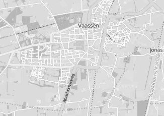 Kaartweergave van Dijkstra in Vaassen