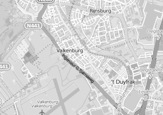 Kaartweergave van Ravensbergen in Valkenburg Zuid Holland