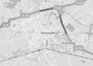 Kaartweergave van Diepenbroek in Varsseveld