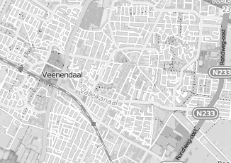 Kaartweergave van Huibers in Veenendaal