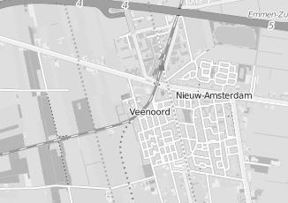 Kaartweergave van Adviesbureau in Veenoord