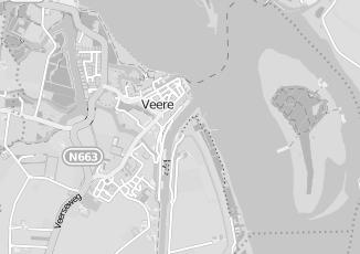 Kaartweergave van Meijer in Veere