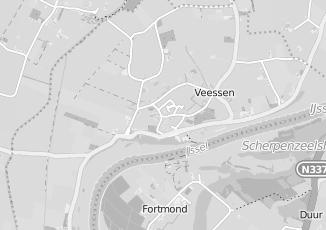 Kaartweergave van R hofmeijer in Veessen