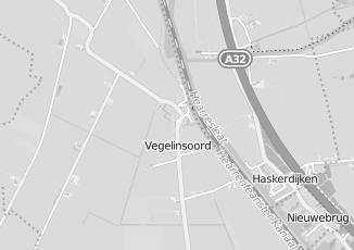 Kaartweergave van Albert heijn in Vegelinsoord