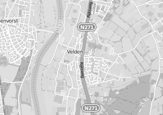 Kaartweergave van Lin in Velden