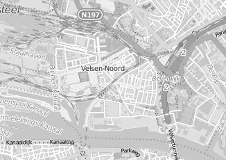 Kaartweergave van Rutte in Velsen Noord