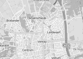 Kaartweergave van Loonen in Venray