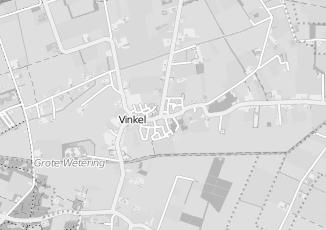 Kaartweergave van Grinsven in Vinkel