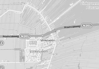 Kaartweergave van Bushoff in Vinkeveen
