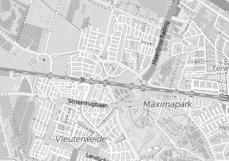 Kaartweergave van Miltenburg in Vleuten