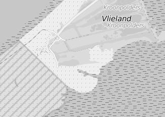 Kaartweergave van Oosterbaan in Vlieland