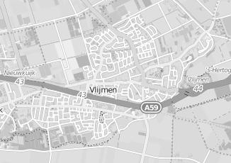 Kaartweergave van Esch in Vlijmen