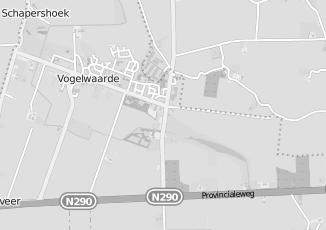 Kaartweergave van Leuven in Vogelwaarde