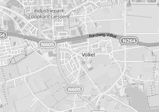 Kaartweergave van Donkers in Volkel