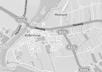 Kaartweergave van Bos in Vollenhove