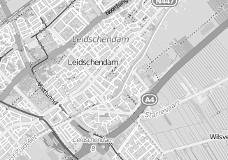 Kaartweergave van Barten in Voorburg