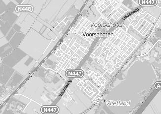 Kaartweergave van Pieterse in Voorschoten
