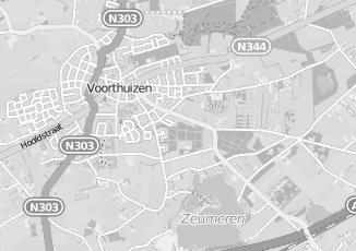 Kaartweergave van Bosch in Voorthuizen