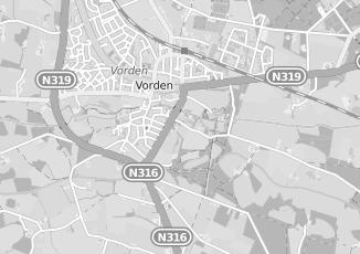 Kaartweergave van Nijenhuis in Vorden