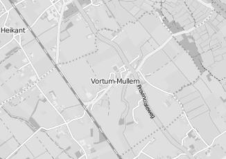 Kaartweergave van Pakhuis vortum in Vortum Mullem