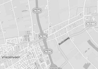 Kaartweergave van Bakker in Vriezenveen