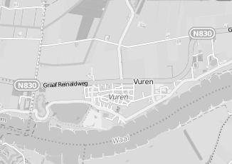 Kaartweergave van Roza in Vuren