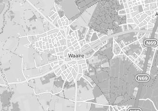 Kaartweergave van Doorne in Waalre