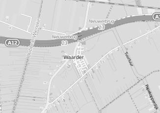 Kaartweergave van Hagoort in Waarder