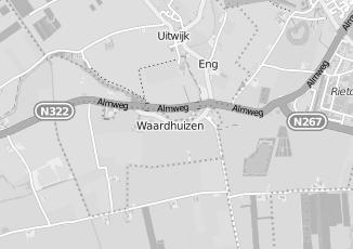 Kaartweergave van Colijn in Waardhuizen