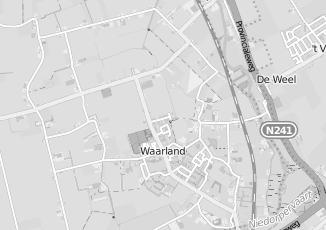 Kaartweergave van Nissan in Waarland