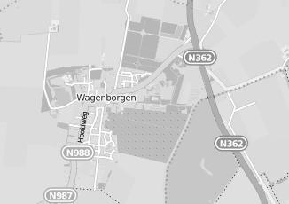 Kaartweergave van Broek in Wagenborgen