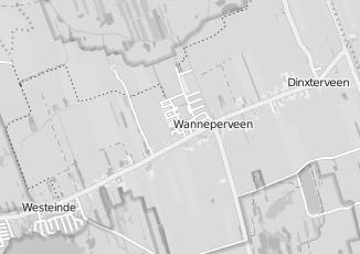 Kaartweergave van Holterman in Wanneperveen