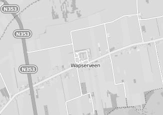 Kaartweergave van Albert heijn in Wapserveen