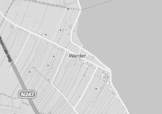 Kaartweergave van Meubels in Warder