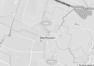 Kaartweergave van Bank in Warfhuizen