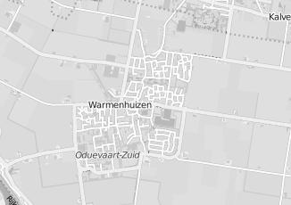 Kaartweergave van Rood in Warmenhuizen