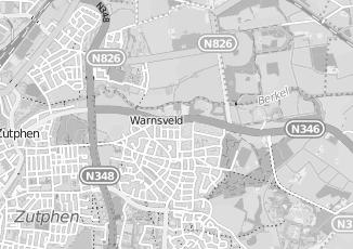 Kaartweergave van Bennis in Warnsveld