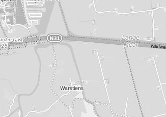 Kaartweergave van Watersport in Warstiens