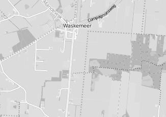 Kaartweergave van Bouma in Waskemeer