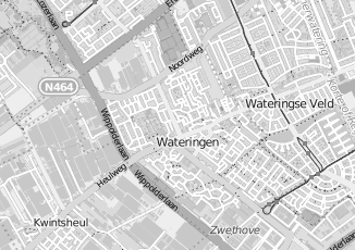 Kaartweergave van Hendriks in Wateringen