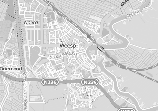 Kaartweergave van Dijkstra in Weesp