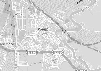 Kaartweergave van Kapper in Weesp