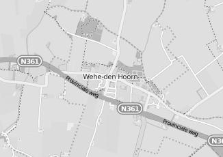 Kaartweergave van Bentum warnders in Wehe Den Hoorn